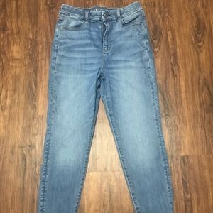 American Eagle curvy highest waist jegging